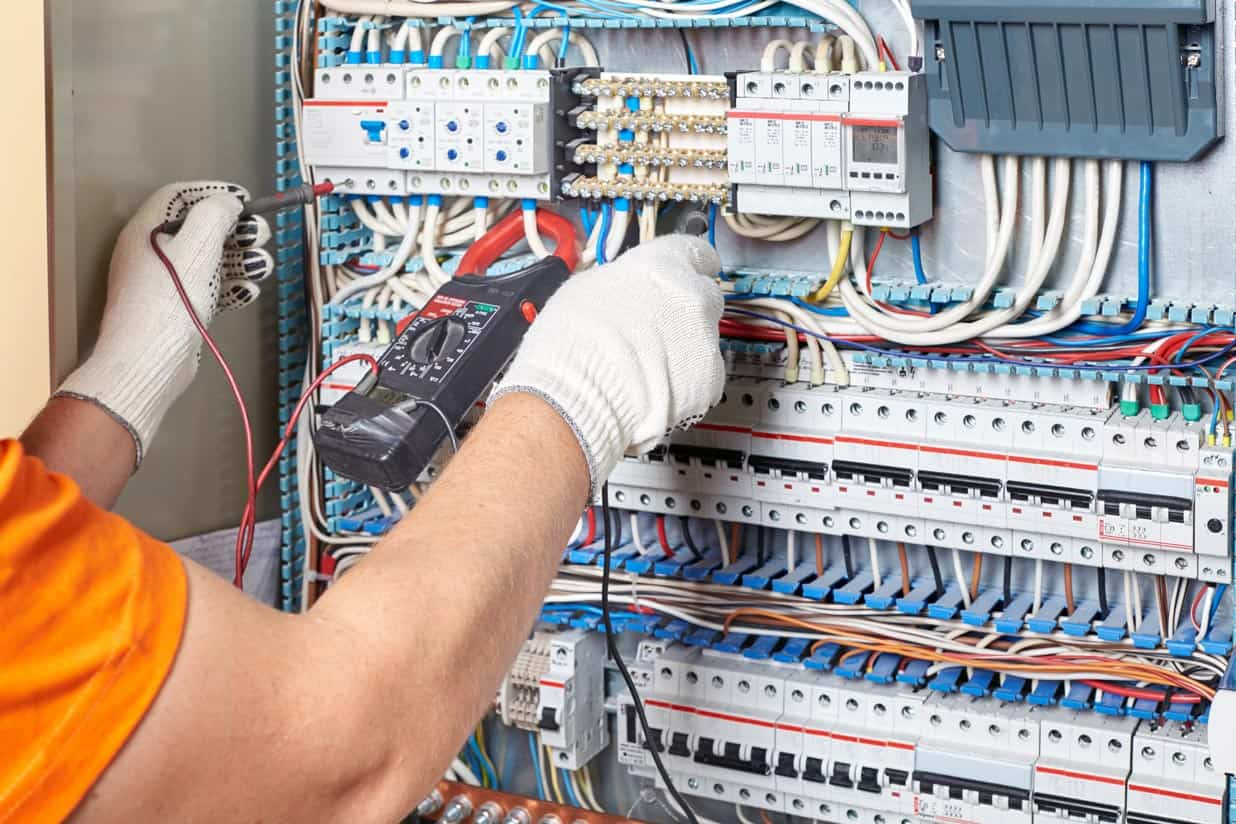 Electrical main installation